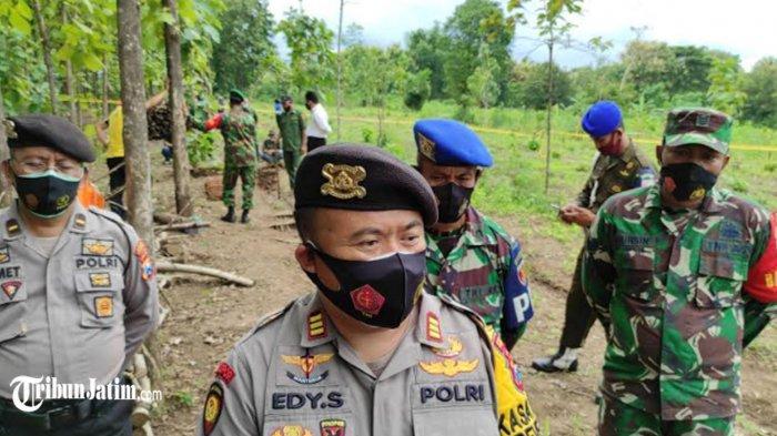 Total 8 Mortir Ditemukan di Ladang Petani Ponorogo, Kasat Sabhara: Kemungkinan Masih Bisa Meledak