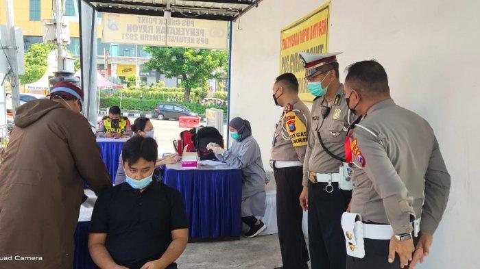 Selain Plat L dan W, Pengendara yang Masuk Kota Surabaya Bakal di Swab, Boleh Jalan Asal Bukan Mudik