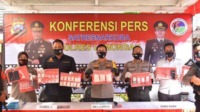 Tren Pengedar Psikotropika di Lamongan Bergeser ke Narkoba, Polres: Jumlah Kasus Naik Dibanding 2019