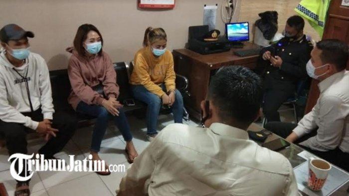 Cewek Mabuk Menabrak Anggota Polantas Ditetapkan Tersangka, Kini Ditahan di Mapolres Tuban