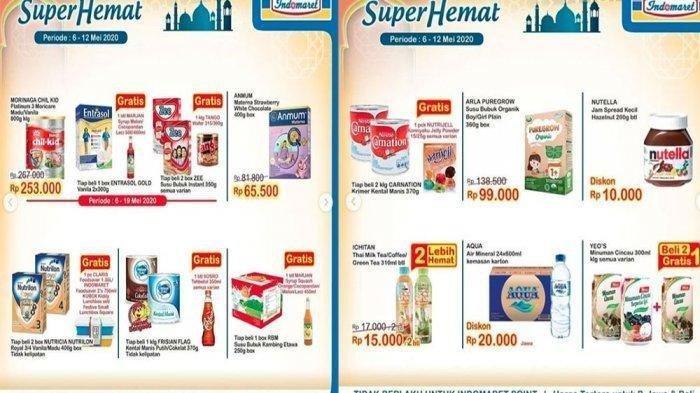 Katalog Promo Indomaret Hari Ini Sampai 12 Mei 2020, Belanja Hemat Susu Balita hingga Minyak Goreng