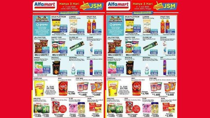 Katalog Promo JSM Alfamart 5-7 Juni 2020, Harga Khusus Beras Raja Platinum, Diskon Minuman Kemasan