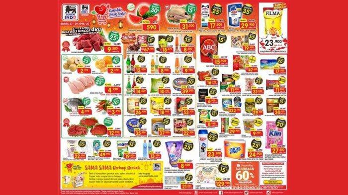 Katalog Promo Superindo 1-3 Mei 2020, Diskon Daging dan Buah hingga Harga Menarik Telur Ayam