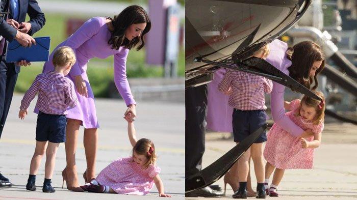 Begini Jadinya Saat Putri Kerajaan Inggris Kate Middleton Lihat Anaknya Ngambek, Beda dari Ibu Lain!