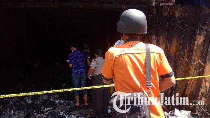 Usut Penyebab Kebakaran Toko Aneka Ria, Polisi Lakukan Olah TKP dan Turunkan Tim Labfor
