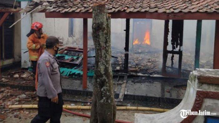 Tak Bisa Selamatkan Diri dari Kebakaran Rumah, Pensiunan Guru Kediri Tewas Dikepung Si Jago Merah