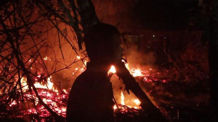 Pakai Lilin untuk Penerangan, 3 Rumah dari Kayu Jati Ludes Terbakar, Kerugian Mencapai 200 Juta