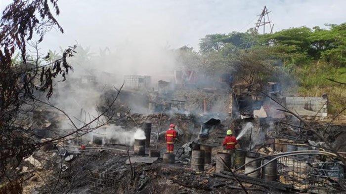 Tambang Minyak Sumur Tua di Bojonegoro Terbakar, Kerugian Capai Ratusan Juta, Ini Penyebabnya