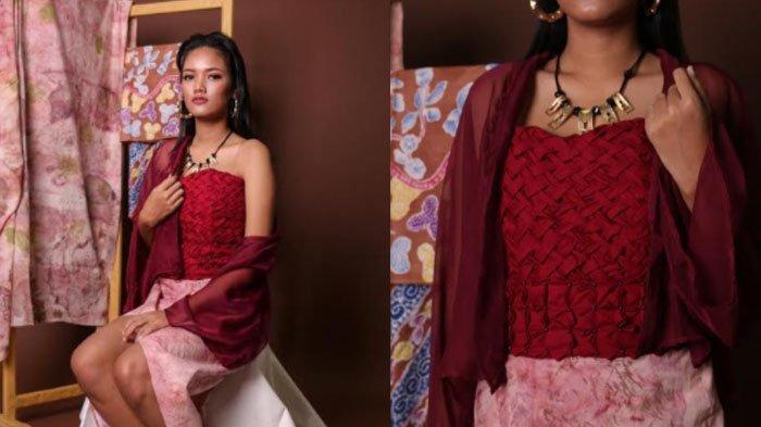 Kebaya Tradisional dengan Sentuhan Modern Ala Desainer Natasya Wijaya, Dipadukan Motif Ecoprint