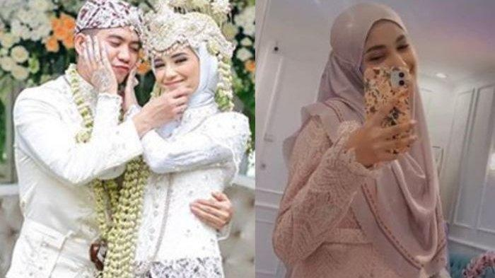 Kebersamaan Rizki DA dan Nadya Mustika Rahayu saat baru awal menikah.