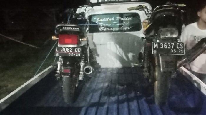 Kecelakaan Beruntun Sepeda Motor di Sumenep, Satu Orang Dari Tiga Pelajar Dilarikan ke Puskesmas