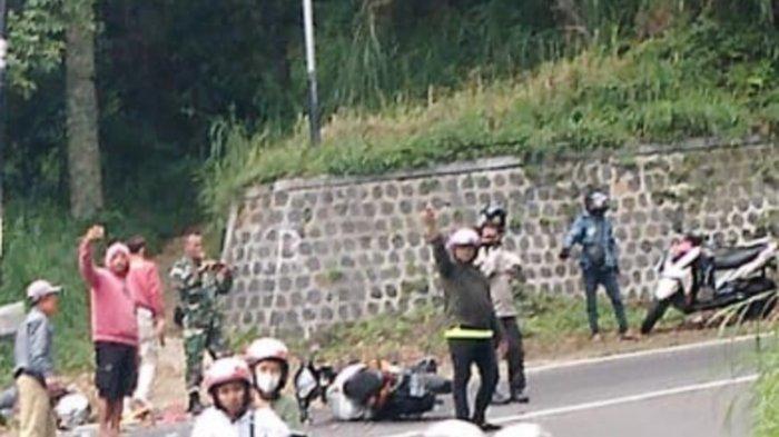 Kecelakaan Maut Motor vs Motor di Telaga Sarangan, Ayah-Anak Tewas di Lokasi, Fakta Dikuak Polisi