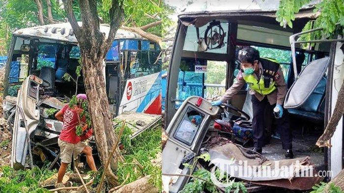 Pria 65 Tahun Tewas Diseruduk Bus di Pasuruan, Penyebabnya Diduga Kurang Waspada Saat Menyebrang