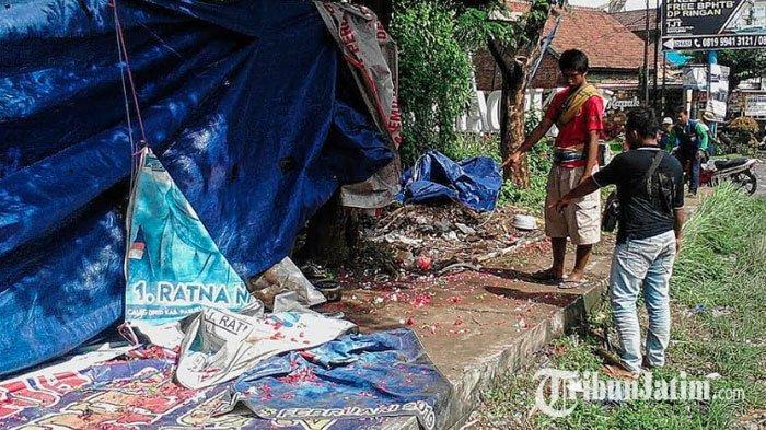 BREAKING NEWS - Toyota Innova Seruduk 6 Karyawan Demo di Jalan Raya Malang-Surabaya