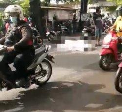 Detik-detik Kecelakaan Maut di Driyorejo Gresik, Dua Pemotor Tewas