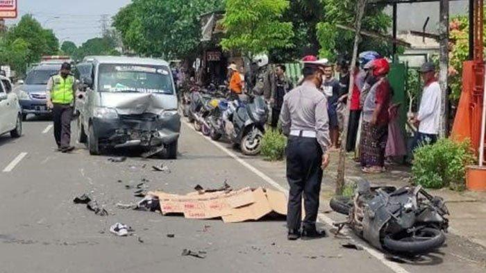 Kecelakaan Maut di Tuban, Pengendara Motor Tewas usai Hantam Grand Max, Dipicu Gagal Nyalip