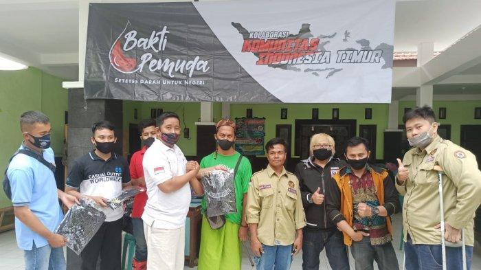 Demi Aksi Kemanusiaan, Komunitas Difabel Antusias Ikut Agenda Donor Darah Bold Riders Probolinggo