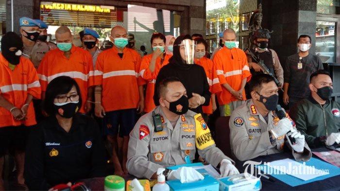 Diwarnai Salah Grebek Kamar, Satresnarkoba Polresta Malang Kota Tangkap ASN Kota Malang