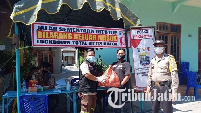 Ajak LSM dan Ormas di Kota Kediri Tangkal Berita Hoax PPKM Darurat, Nur Muhyar: Jangan Terprovokasi