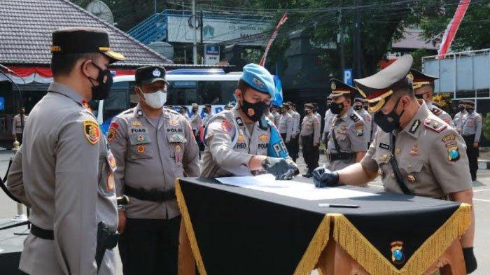 Lakukan Penyegaran, 4 Kapolsek di Wilayah Hukum Polresta Malang Kota Resmi Berganti