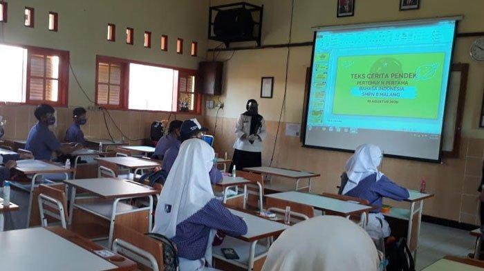 Seluruh SMA di Ponorogo Buka Pembelajaran Tatap Muka, Hanya 50 Persen Siswa dan Selama Tiga Jam