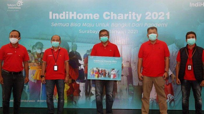 IndiHome Charity 2021, Kegiatan Sosial Telkom Beri Bantuan Ponpes, Panti Asuhan dan Yayasan Sosial
