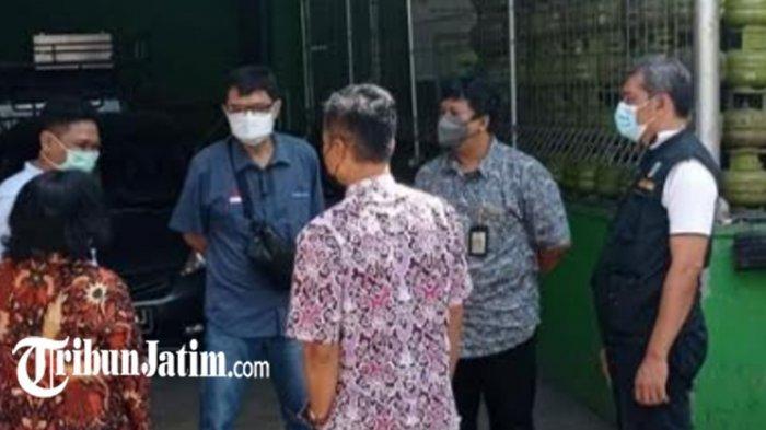 Masyarakat Keluhkan Kelangkaan LPG 3 Kg, TPID Kota Kediri Lakukan Sidak, 'Aman, Pasokan Lancar'