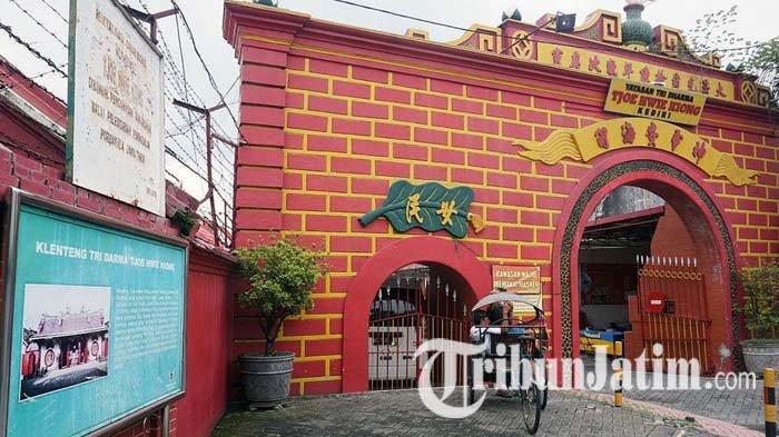Kelenteng Tjoe Hwie Kiong Kota Kediri Tak Gelar Perayaan Imlek, Atraksi Barongsai Ditiadakan