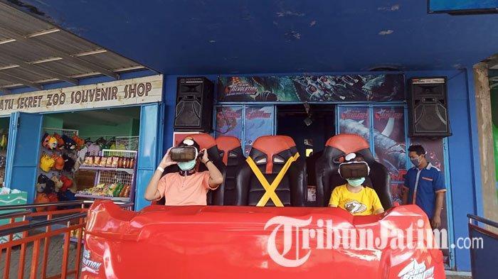 Perdana Buka Usai Ditutup, 200 Wisatawan Berkunjung ke Jatim Park 2 Malang