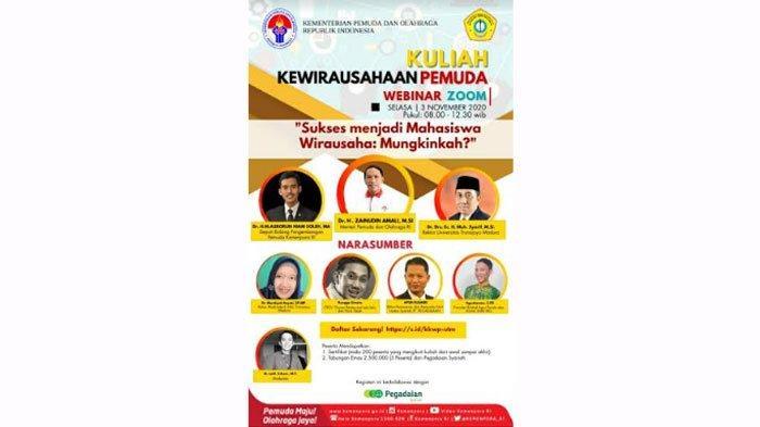 Kemenpora dan UTM Gelar KuliahKewirausahaan Pemuda, Siapkan SDMMenuju Indonesia Emas 2045