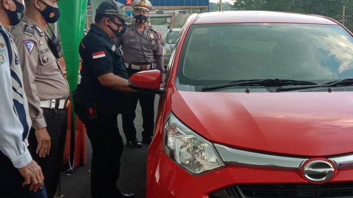 Hasil Operasi Ketupat Semeru, Polresta Malang Kota Putar Balik 615 Kendaraan di Exit Tol Madyopuro