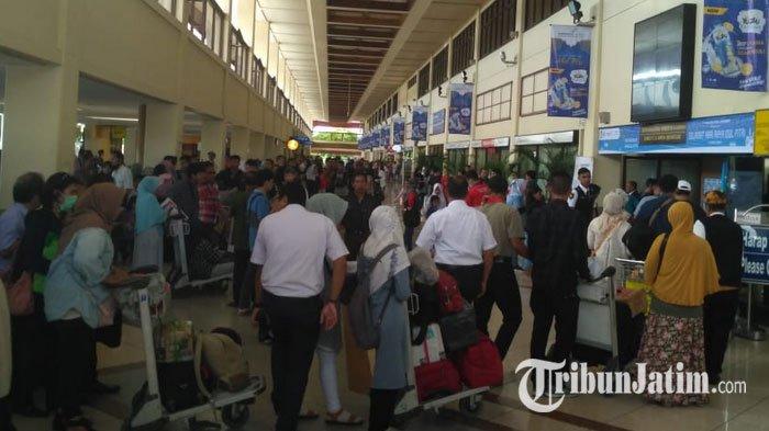 Arus Mudik dan Balik Lebaran, Jumlah Penumpang di Bandara Juanda Capai Lebih dari 800 Ribu Orang