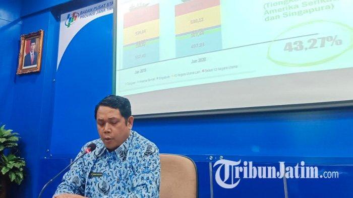 BPS Jawa Timur Sebut Impor Jatim di Bulan Januari 2020 Turun Sebesar 1,08 Persen