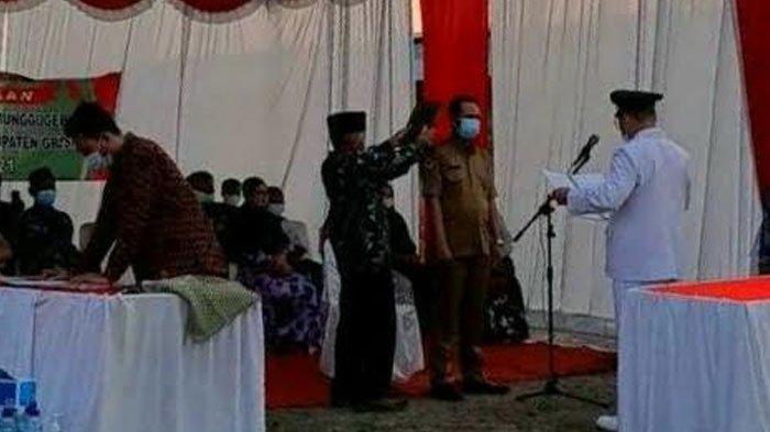 Kepala Desa Munggugebang Gresik Lantik Suparno di Romokalisari Surabaya, Aliansi Warga Pilih Menolak