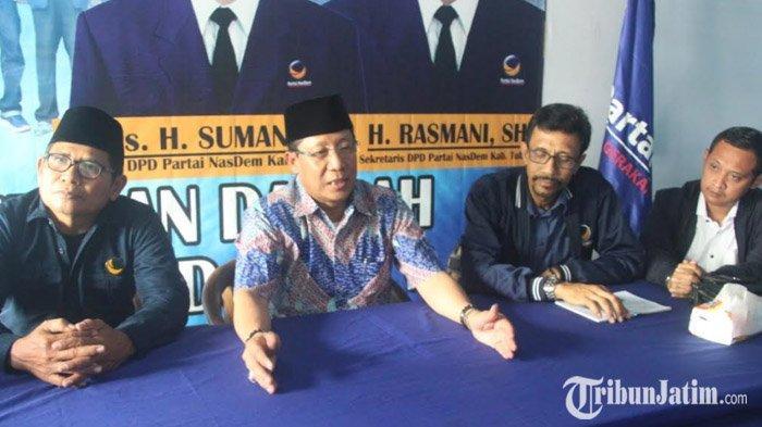 Seusai Mendaftar di PDIP, Setiajit Kini Mendaftar Bacabup Pilkada Tuban 2020 di Partai NasDem