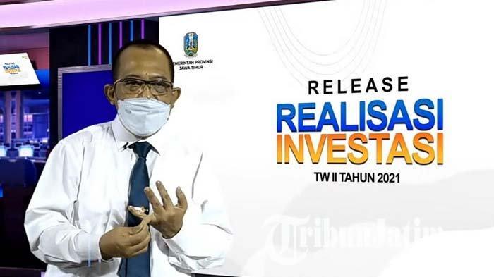Capaian Realisasi Investasi Jatim Semester I Tahun 2021 Tembus Rp 34,8 T, Didominasi Sektor Mamin