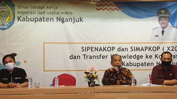 Disnakerkop Nganjuk Maksimalkan Aplikasi Simapkop, Permudah Pelaporan Administrasi Koperasi