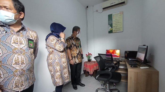 Cegah Penyebaran Covid 19, Pengadilan Negeri 1A Malang Ciptakan Inovasi Anjungan Pelayanan Mandiri