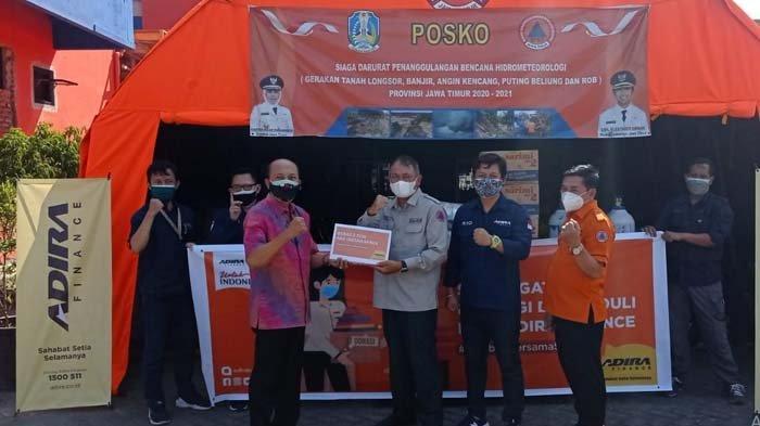 Adira Finance Salurkan Donasi Sembako dan Masker untuk Warga Jatim, Dukung Pemprov Atasi Covid-19
