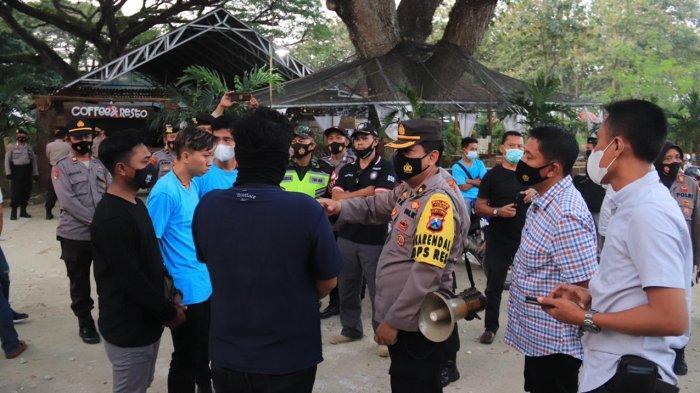 Kopdar Perguruan Silat di Tuban Dibubarkan Polsi, 4 Orang Panitia Diamankan