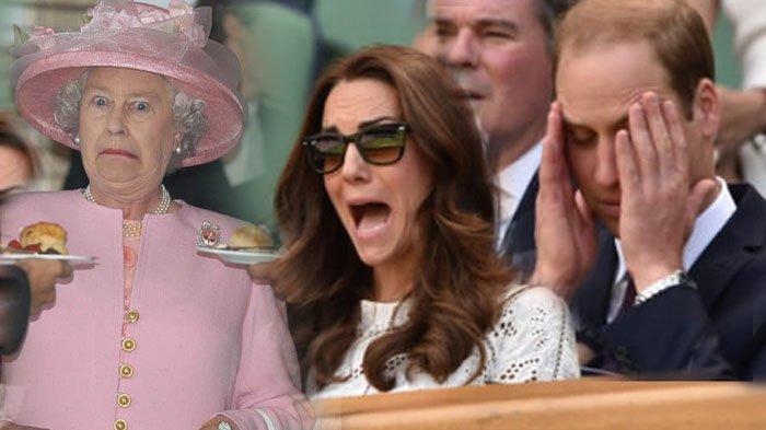 Foto-Foto Ini Bukti Anggota Kerajaan Inggris Juga Orang 'Biasa'? Ngupil Hingga 'Nyembur' Pun Ada!