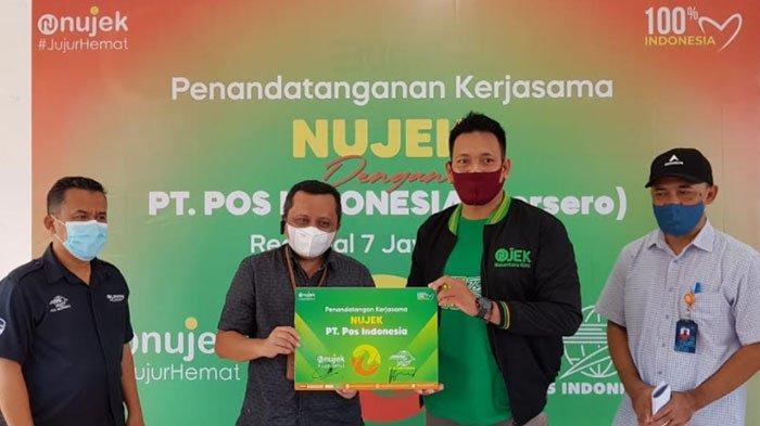 Nujek Gandeng PT Pos Indonesia Regional 7 Jatim untuk Berikan Layanan Pick Up Service Gratis