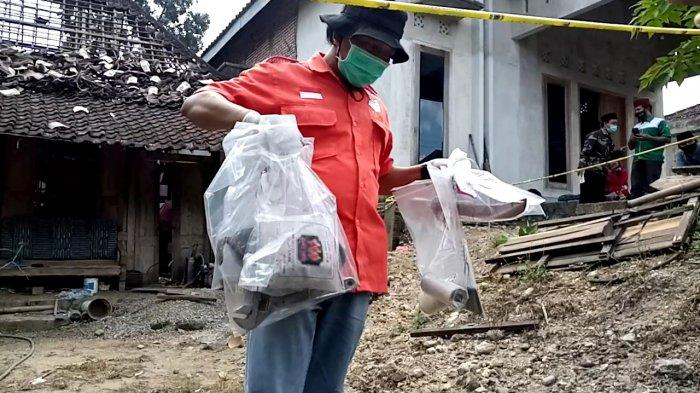 Polsek Rejotangan Melacak Penjual Bubuk Mesiu Mercon Maut di Tulungagung Hingga ke Blitar dan Kediri
