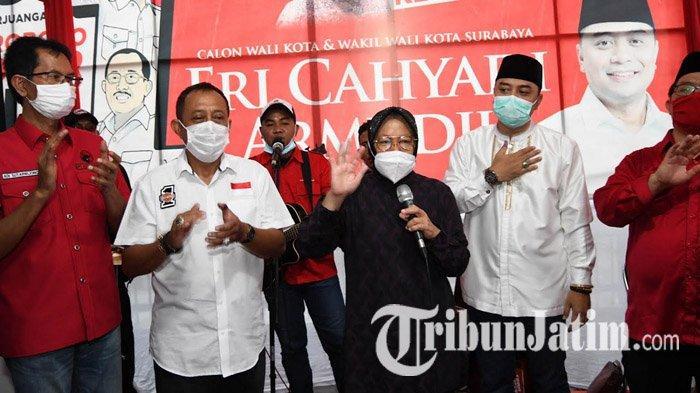 PDI Perjuangan Kota Surabaya Ikut Bangga Tri Rismaharini Terpilih Jadi Menteri Sosial