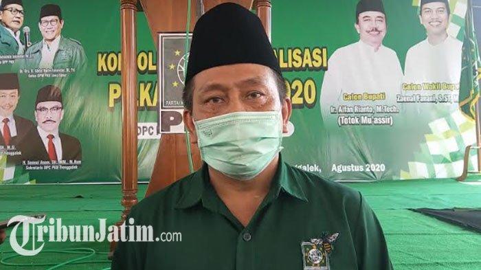 Syah M Natanegara Maju Dampingi Petahana Pilkada Trenggalek 2020, Ketua DPC PKB: Syah Bukan Kader