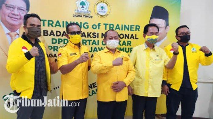Masuk Dua Besar di Survei LKPI, Golkar Jatim Optimistis Tatap Target 17 Kursi DPRD di Pemilu 2024