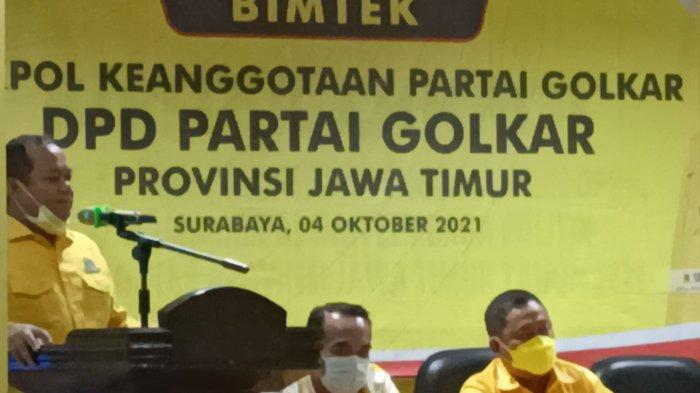Elektabilitas Masuk Tiga Besar, Partai Golkar Jatim Sambut Positif ; Siap Perkuat Jaringan
