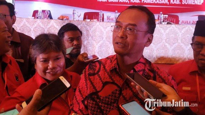 Tunjuk Adi Sutarwijono Pimpin PDIP Kota Surabaya, Ketua DPP: Semua Dewasa dalam Berdemokrasi