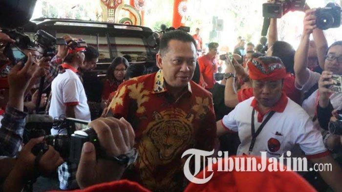 Hadiri Kongres V PDIP di Bali, Bamsoet dan Airlangga Hartarto Tidak Datang Bersama