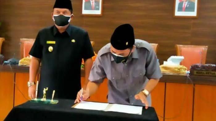LKPJ Pelaksanaan APBD 2020 Disetujui DPRD, Pemkab Nganjuk Segera Sampaikan APBD Perubahan 2021